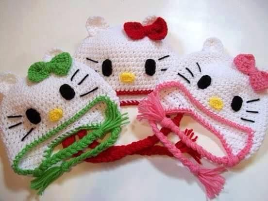 Hello Kitty Tapete Croche – Reiquest com ~ Tapetes Quarto Hello Kitty